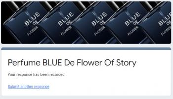 Free Sample loot : Get Blue De Flower Perfume