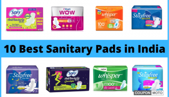 Best 10 Comfortable Sanitary Pads For Women In India