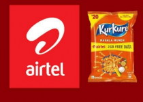 Kurkure Airtel Data Offer – Get Free Airtel Data With Kurkure Packs