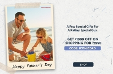 Ajio Father's Day Special Deal – Get upto ₹1,000 Off on ₹2,990 & above
