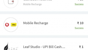 Working Fine Loot Fast get 15 by 10 recharge by freecharge