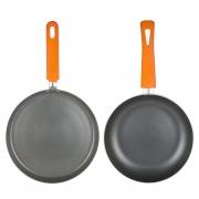 2 Pcs Pressed Alluminium Cookware Set