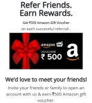 Reliance smart money : Just Signup & Refer get ₹500 Amazon Gift card Per Refer Instantly After account activation