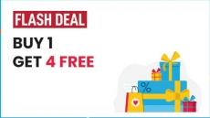 Latest Ajio Totally Crazy Deals : Buy 1 at Mrp , Get 4 Free