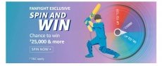 Amazon FanFight Exclusive- Spin & Win Ans: 31 Spin