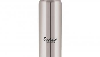 Top Offer on Smidge Stainless Steel Water Bottle, 1000ml – 55% Off