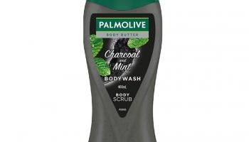 Palmolive Charcoal & Mint Body Wash, 400 ml