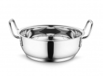 Stainless Steel Induction Base Kadhai – 85% Off