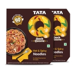 TATA Q Heat to Eat, Hot & Spicy Noodles, 2 x 280g Loot Deal