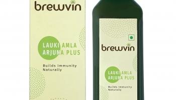 Best offer on Brewvin Lauki Amla Arjuna Juice, 1L – 66% Off
