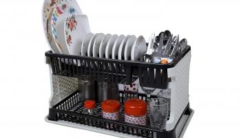 Plastic Kitchen Organizer Rack 60% Off Deal