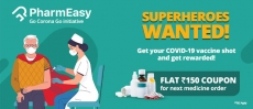PharmEasy Offer – Flat Rs 150 on Rs.1500 via HDFC Bank bank cards