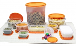 Princeware Plastic Container Set, 10-Pieces Great Deal