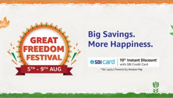 Amazon great Freedom festival Sale offers and deals 2021