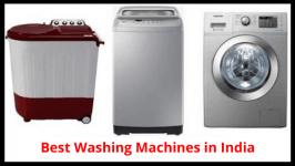 Best 10 Washing Machine Brands in India