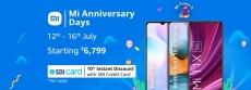 Latest deal Mi Anniversary Days offers