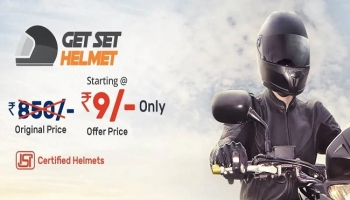 Droom Flash Sale – Get Helmets In Just ₹9