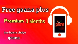 How to Get Gaana+ Premium 3 & 6 Months Subscription For Free