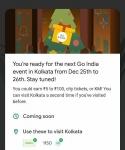 Tricks : Google Pay Go India Game Kolkata City Event Quiz Answers.