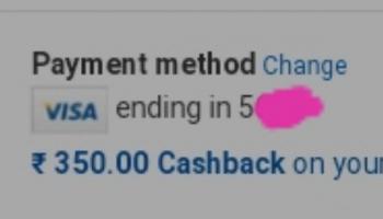 Promocode : Get Upto 350 + Cashback On Min 1000 Shopping.