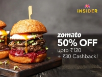 Zomato Myntra : Get 60% OFF For New User & Get 50% OFF +30 Cashback For All User
