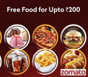Latest Zomato free food loot offer from Airtel