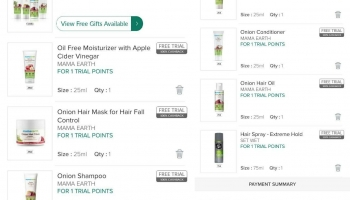 Smytten Loot offer : Get Free 6 Products & 1 MamaEarth Haircare Kit