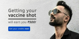 Ustraa loot : Upload Vaccination Certificate & Get 500₹ Credits for Free.