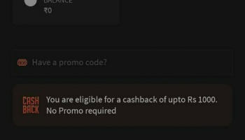 Freecharge loot offer : get 1000 Rs cashback Trick