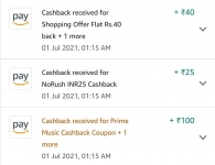 Big deals on Amazon pantry : Buy for 400 get 100 cashback. Only for Prime Users
