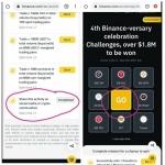 Binance Loot : Get Free 1 Spin (Total Rewards Worth $1,800,000).