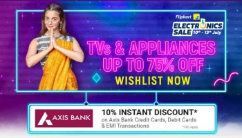 Best offer : Flipkart  Electronics Sale 10th – 13th July