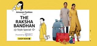 Grab : Raksha bandhan offers on Amazon