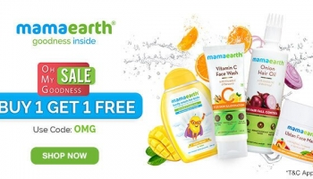 Pre Live Mamaearth Deal : OMG Sale Buy 1 & Get 1 Free.