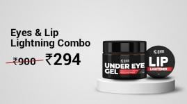 Latest Offer 61% off : Beardo Eyes & Lip Lightning Combo