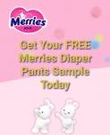 Free Sample loot : get Merries Diapers pants free Sample