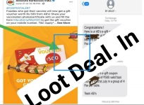 Free loot : Get a gift voucher of 500 Rs on uploading Vaccination Certificate Absolute Barbecues