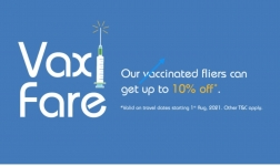 Vaxifare offer : get 10% off on indigo for Covid Vaccination