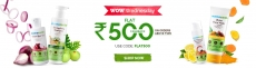 MamaEarth Wow Wednesday: Flat ₹500 Cashback On Orders ₹999
