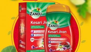 Latest Offer on Zandu Kesari Jivan (900g) at Rs.415