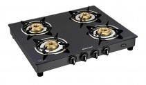 Best offer Sunflame GT Pride 4 Burner Gas Stove, Black