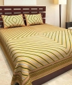 Best Price JAIPUR PRINTS Bedsheet for Double Bedsheet with 2 Pillow Covers