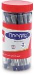 Cello Finegrip Ball Pen (25 Pens Jar – Blue)