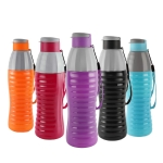 Cello Plastic Water Bottle, 600ml, Set of 5