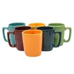 Ceramic Coffee Mugs – 6 Pieces