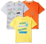 Cloth Theory Boy's Classic Fit T-Shirt (Pack of 3)