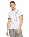 Cloth Theory Men's Solid Regular Fit Polo
