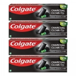 Colgate Charcoal Clean Toothpaste, 120g X 4