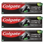 Colgate Charcoal Clean Toothpaste (Pack of 3)