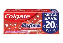 Colgate Max Fresh Red Gel Toothpaste – 300gm
